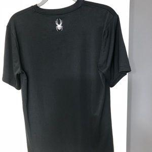 Spyder Shirts - Spyder XL designer logo black shirt